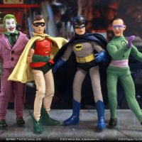 Batman Classic 1966 TV Series Action Figure Set
