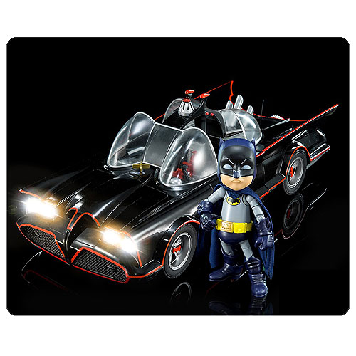 Batman Classic 1966 TV Series Batmobile Hybrid Metal Figuration Die-Cast Metal Vehicle