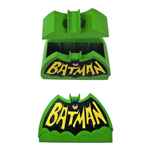 Batman Classic 1966 TV Series Logo Cookie Jar