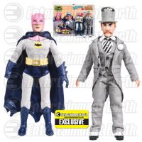 Batman Classic 1966 TV Series The Contaminated Cowl Batman vs. Mad Hatter 8-Inch Action Figure Set