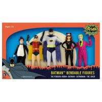 Batman Classic TV Series 5 1 2-Inch Bendable Figure Box Set