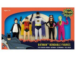 Batman Classic TV Series 5 1 2-Inch Bendable Figure Box Set