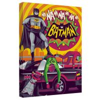 Batman Classic TV Series Batman Wins Again Canvas Wall Art_small