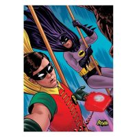 Batman Classic TV Series Dynamic Selfie MightyPrint Wall Art Print