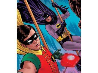 Batman Classic TV Series Dynamic Selfie MightyPrint Wall Art Print