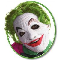 Batman Classic TV Series The Joker Foam Latex Mask with Hair