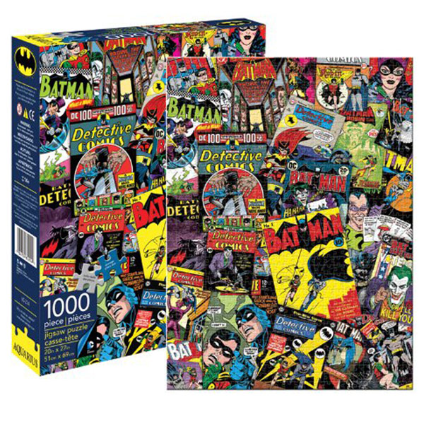Batman Collage 1000 Piece Puzzle