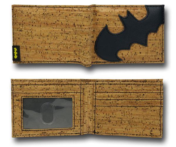 Batman Cork BiFold Wallet