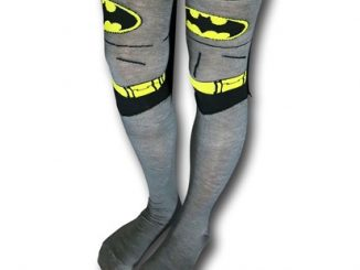 0d68067808d Batman Costume Over-the-Knee Caped Socks