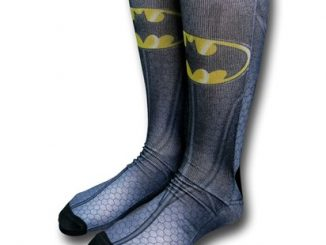 Batman Costume Sublimated Crew Socks