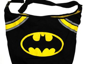 Batman DC Comics Bat Signal Logo Super Hero Hobo Bag