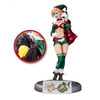 Batman DC Comics Bombshells Holiday Harley Quinn Statue