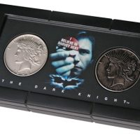 Batman Dark Knight Harvey Dent & Two-Face Coin Replica Set