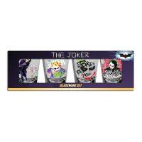 Batman Dark Knight Joker Shot Glass 4-Pack