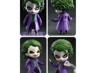 Batman Dark Knight Joker Villains Edition Nendoroid Figure