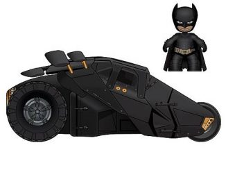 Batman Dark Knight Mini Mez-Itz Batman Figure and Tumbler