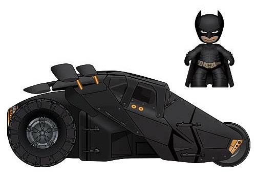 Batman Dark Knight Mini Mez-Itz Figure and Tumbler