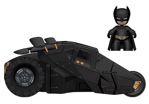 Batman Dark Knight Mini Mez-Itz Figure and Tumbler