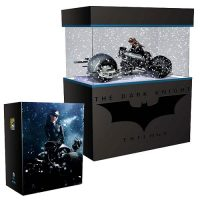 Batman Dark Knight Rises Bat-Pod with Catwoman Pre-Assembled 1 18 Model Kit