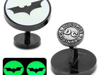 Batman Dark Knight Signal Glow-in-the-Dark Cufflinks