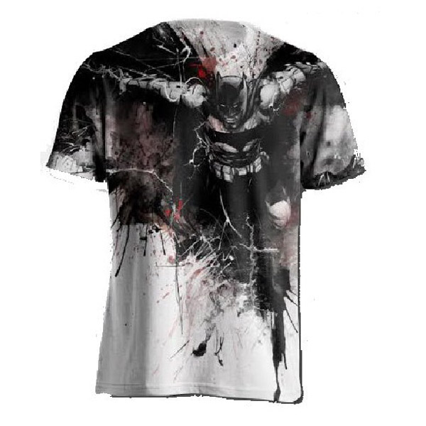 Batman Dark Knight Watercolor T-Shirt