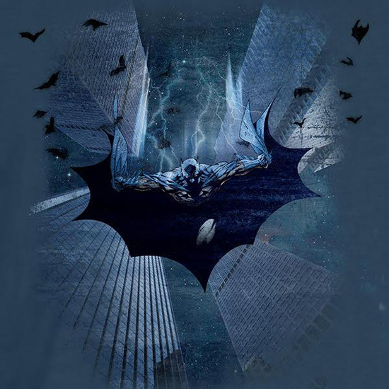 batman-diving-shirt