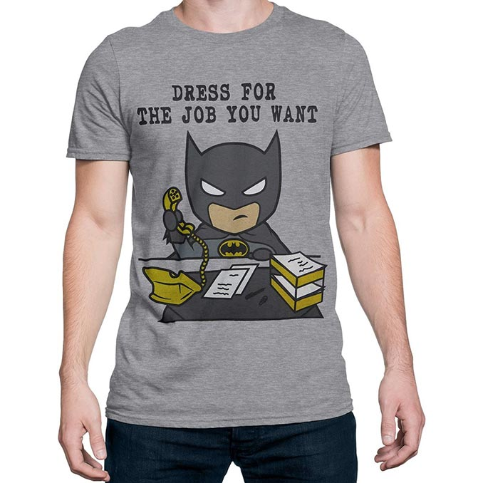 Batman Dress for the Job You Want T-Shirt
