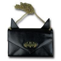 Batman Eared Envelope Wallet with Chain