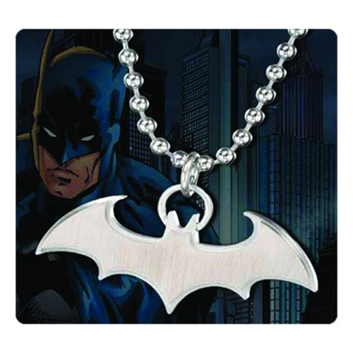 Batman Emblem Steel Pendant