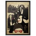 Batman Faces of Gotham Poster