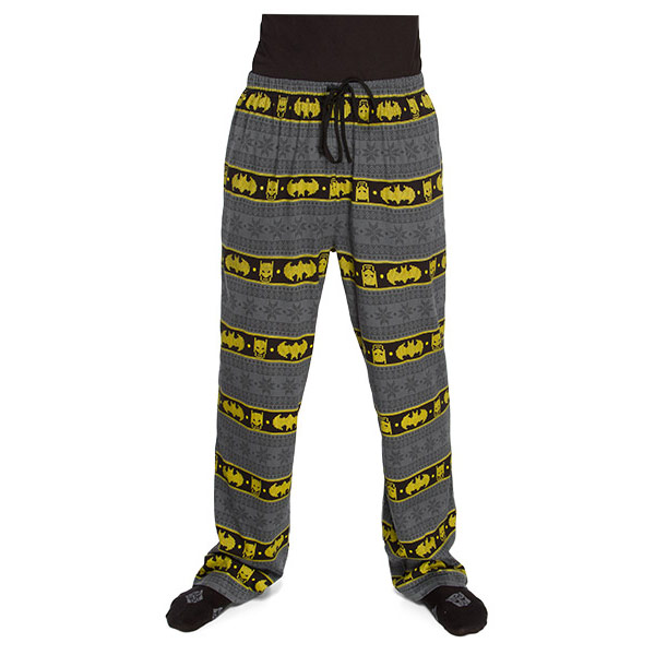 Batman Fair Isle Unisex Lounge Pants