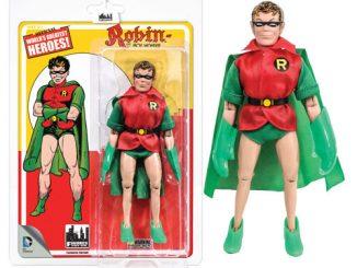 Batman First Appearances 8-Inch Retro Green Cape Robin Action Figure
