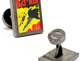 Batman First Issue Comic Book Cover Cufflinks