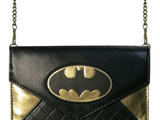 Batman Foil Envelope Wallet with Chain