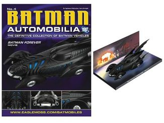 Batman Forever 1995 Batmobile Die-Cast Vehicle with Magazine