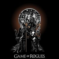 Batman Game of Rogues T-Shirt