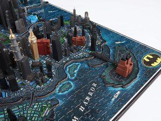 Batman Gotham City 4D Puzzle