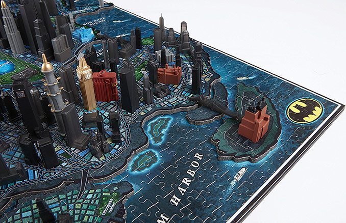 Batman Gotham City 4D Puzzle