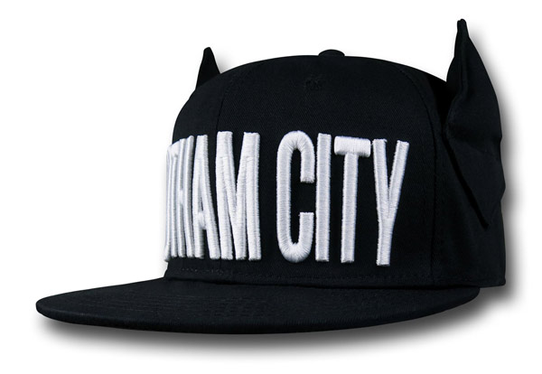 Batman Gotham City Eared Cap