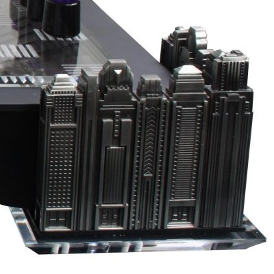 Batman Gotham Cityscape Chess Set Detail