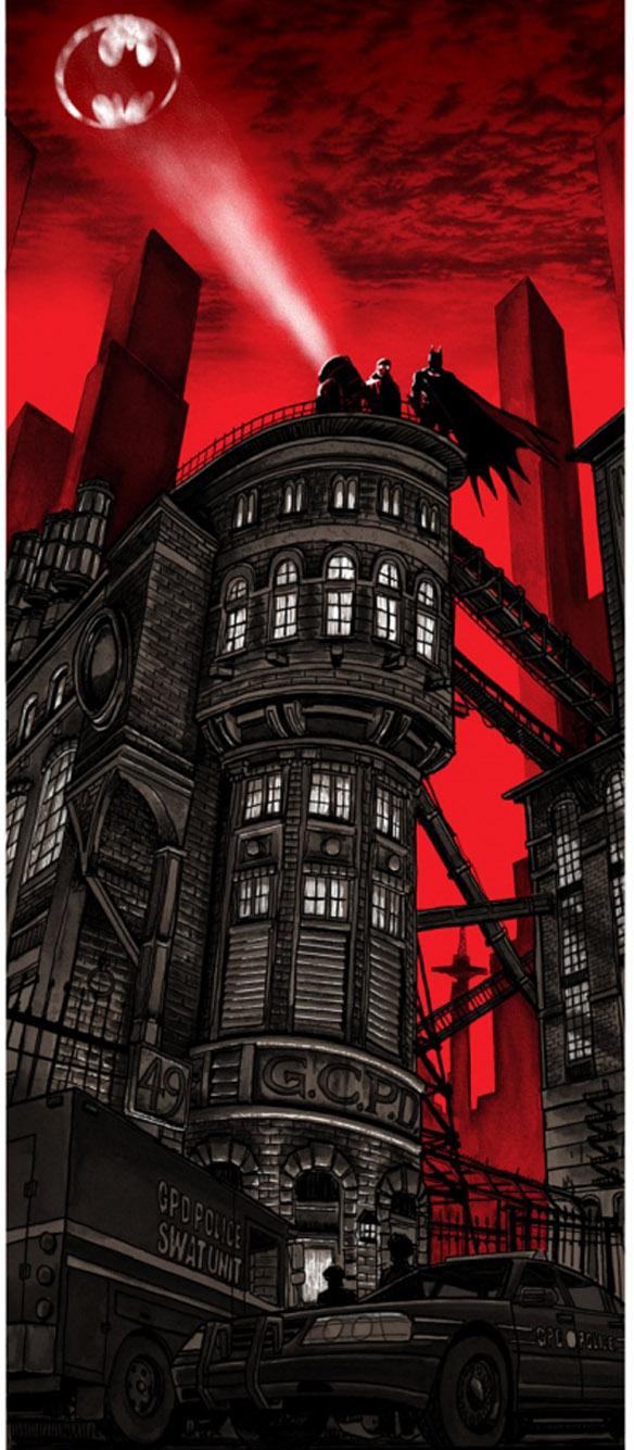 Batman Gotham PD Poster