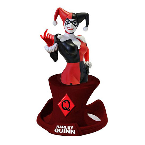 Batman Harley Quinn Bust DC Comics Resin Paperweight