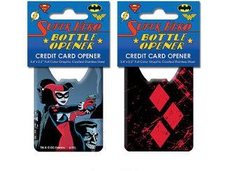 Batman Harley Quinn Iconic Credit Card Bottle Opener