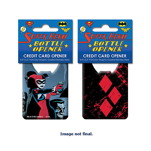 Batman Harley Quinn Iconic Credit Card Bottle Opener