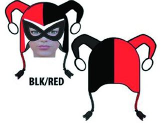 Batman Harley Quinn Mask Laplander Hat
