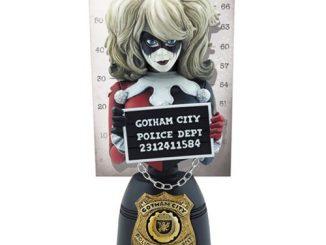 Batman Harley Quinn Mugshot Bust