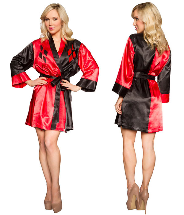 Batman Harley Quinn Satin Robe