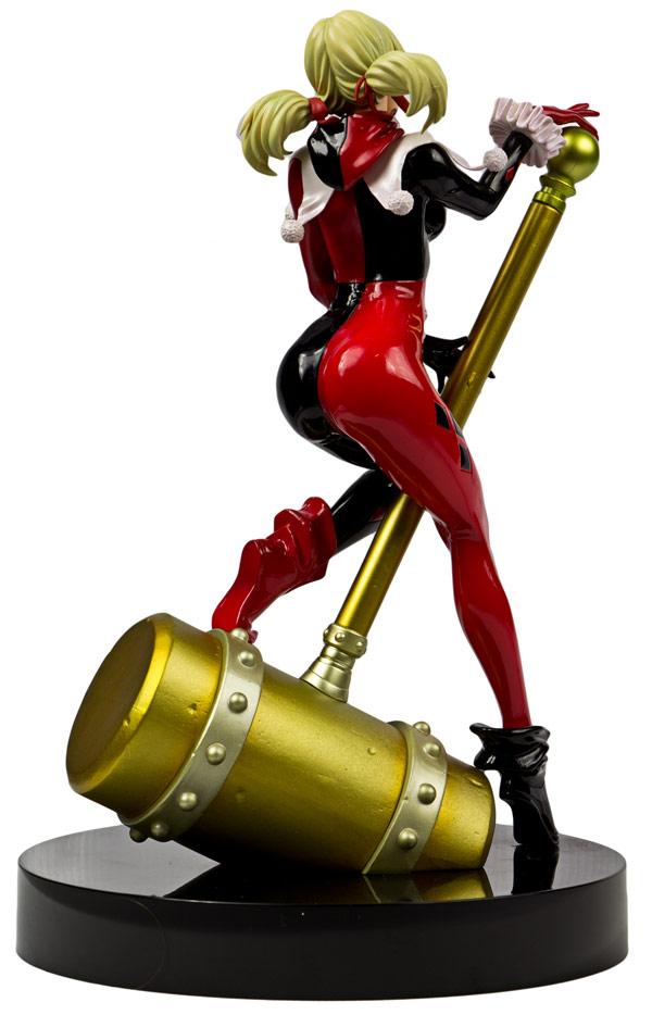 Batman Harley Quinn Unmasked Bishoujo Statue