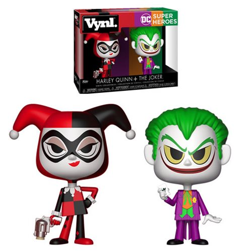 Batman Harley Quinn and Joker VYNL Figure 2-Pack