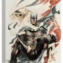 Batman Heart of Hush Canvas Wall Art